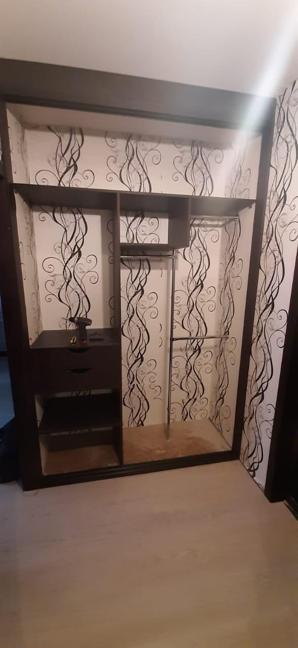 Встроенный шкаф в прихожей