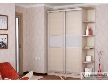 Шкаф купе с комбинированными дверьми