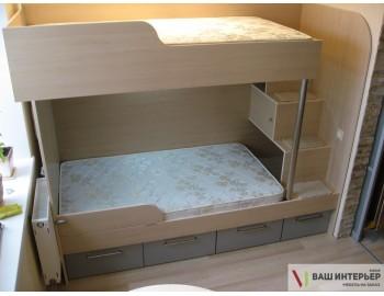 Кровать 2-х ярусная Эко м
