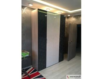 Распашной шкаф (Лакобель)